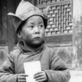 His Holiness the 14th Dalai Lama, Tenzin Gyatso at four years old