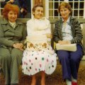 lr: Rosa Taylor, Pat Wilkinson, Phyllis