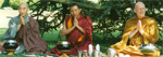 Header photo left to right: Jisu Sunim, Geshe Tashi Tsering, and Ajahn Sumedho. Photo taken at BPG Buddhist Summer School, Leicester, UK, by Gerda Chapuis