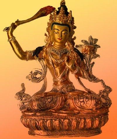 Manjushri the Bodhisattva of Wisdom