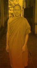 Khmer monk