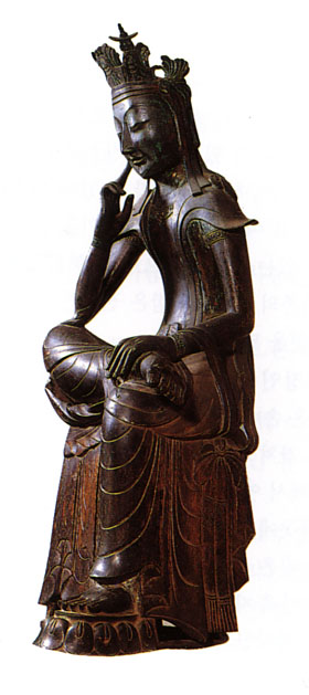 Maitreya Buddha, Korea, late C6th