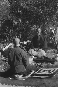 Yokoyama and Joko in park.