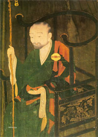 Son master Chinul Sunim (Korean Zen Master 1158-1210)