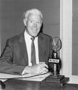 Trevor Leggett at the BBC 1969 © Trevor Leggett Trust