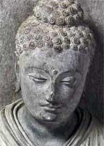 Ganharan Buddha Head V&A