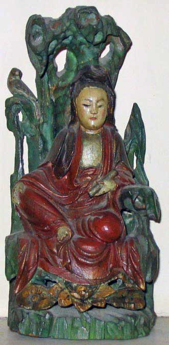 Kwan Yin (Kanzeon) with thanks to Maurice Ash