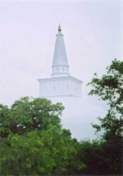 White Stupa Burma. Photo © Sir John Aske