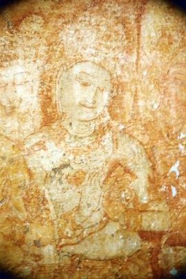 Wall painting, Sri lanka Photo: © Hazel Waghorn