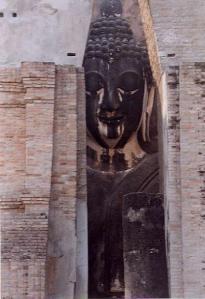 Buddha in wall