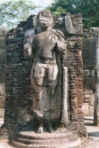 Standing Buddha, Sri lanka Photo: © Hazel Waghorn