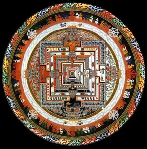 Kalachakra sand mandala. Photo: © wikipedia.org