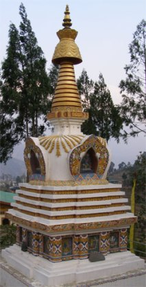 Stupa. Photo: © Paul Heatley