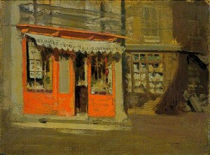 The Red Shop (The October Sun) by Walter Richard Sickert, Norfolk Museums & Archaeology Service (Norwich Castle Museum & Art Gallery)