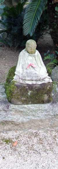 Jizo Bosatsu (Bodhisattva) Photo © Jizo Hazel Waghorne