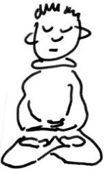 posizione del loto tradizionale