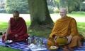 Geshe Thinley and Ajahn Sumedho 2005 BPG Summer School