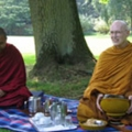 Geshe Thinley and Ajahn Sumedho 2005 BPG Summer School