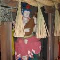 Buddhist deity Benzaiten (Sanskrit: Sarasvati), is depicted playing a biwa. Photo: © @KyotoDailyPhoto