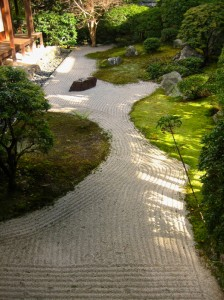 Daishin-in moss- rock Garden Photo © @KyotoDailyPhoto