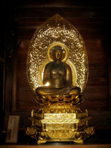 Amida Nyorai (Buddha of Infinite Light & Life).  Photo: © @KyotoDailyPhoto