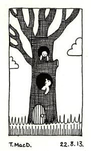 Tree House Art © @TessaMacDermot
