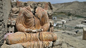 The finds in Mes Aynak are both beautiful and historically illuminating, but will there be time to save them all? Photo: Brett E. Huffman.