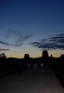 Sky line over Angkor Wat  Photo: ©  Janet Novak