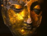 Gold Buddha from Mes Aynak