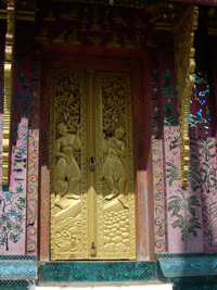 Doorway Cambodia Photo: ©  Janet Novak