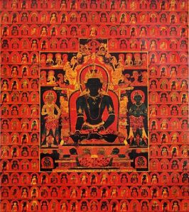 The Five Buddha Families, by Francesca Fremantle