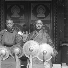 Ceremonial musical instruments from Tibet and Mongolia