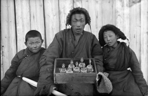 Tibetian Images, Monastries, and Monks from Ulaanbaatar