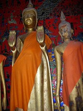 Standing Buddha, Cambodia.Photo © Janet Novak