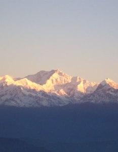 Kangchenjunga mountain, Himalayas