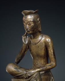 Maitreya Bodhisattva. National Museum of Korea, National Treasure 83