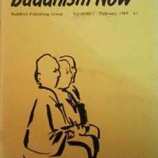 Buddhist Publishing Group (BPG) published the first issue of Buddhism Now in February 1989.