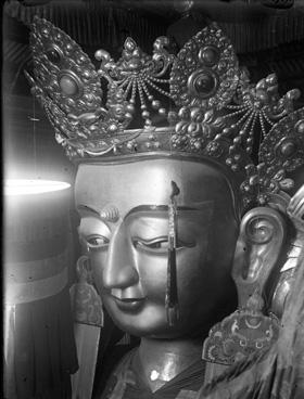 Bodhisattva Photo from #endangeredarchives @bl_eap, Ulaanbaatar