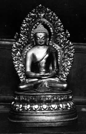 Buddha Photo from #endangeredarchives @bl_eap, Ulaanbaatar