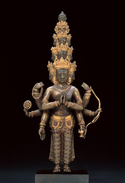 Bodhisattva Avalokiteshvara with Eleven Heads