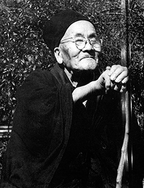 Photo of Katô Kôzan with many thanks to Arthur Braverman