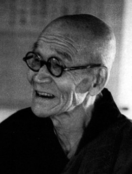 Sawaki Kôdô. Photo: Arthur Braverman