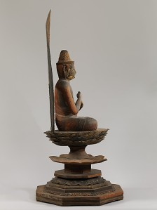 Dainichi Nyorai is known as the Supreme Buddha of the Cosmos in Esoteric Buddhist thought. Mudra, which holds the power to restrain passions that hinder enlightenment. Photo © Metropolitan Museum of Art