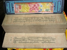 Digitising manuscripts at Gangtey Monastery in Bhutan, British Library endangeredarchives project