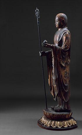 The bodhisattva Jizō. Metropolitan Museum of Art