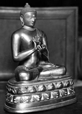 Buddha image. British Museum