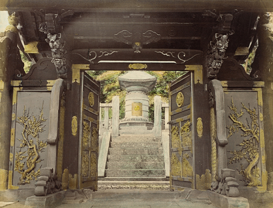 Buddhist Photographs of Japan in 1865 (3/6)