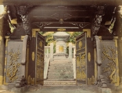Bronze Gate, Japan. 1865 Photograph, Los Angeles County Museum of Art (LACMA)