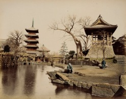 Buddhist Temple, Japan 1865