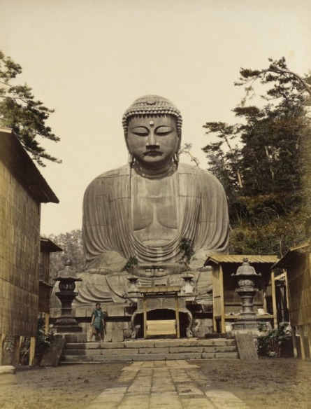 Daibutsu. 1865 Photograph, Los Angeles County Museum of Art (LACMA)